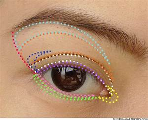 25 Hooded Eye Makeup Diagram