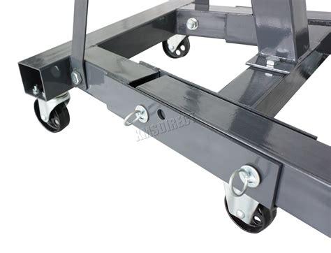 Switzer Grey 2 Ton Hydraulic Folding Engine Crane Stand