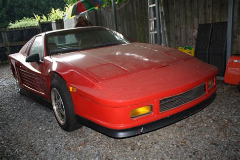 People will not know that its replica unless. 1988 Pontiac Fiero with Ferrari Kit - Appraisal Engine Inc
