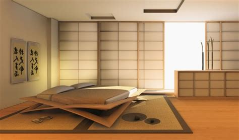 Modern And Futuristic Japanese Bedroom Design