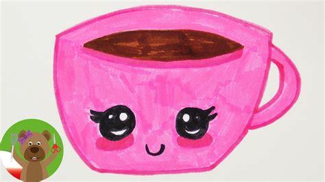 malowanie  rysowanie dla dzieci obrazek kawaii
