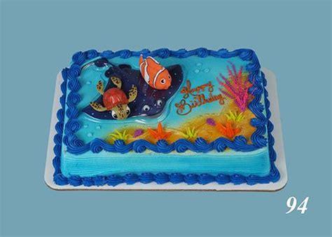 nemo sheet cake  birthday pinterest order cake