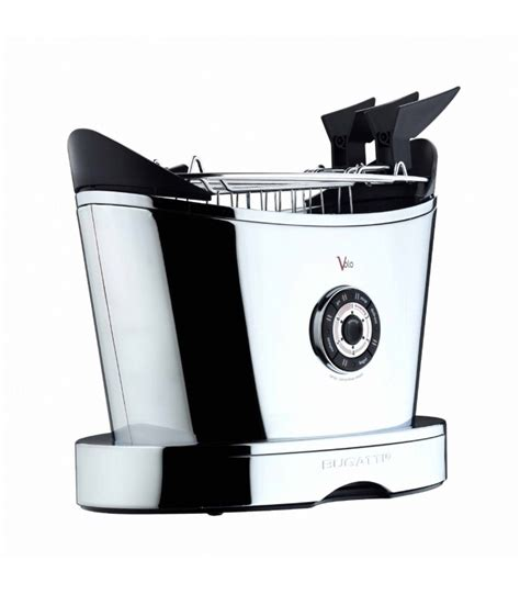 The bugatti noun glass toaster has taken the toaster industry to a new level with a unique look and different way of cooking. Bugatti Volo Toaster 13-VOLO - Shop Mancini