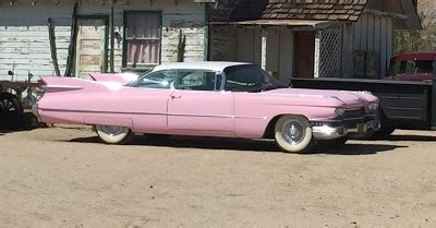 Jerry Lewis Pink Cadillac by Enchanted Revelries