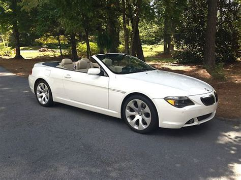 Find Used 2006 Bmw 650i Convertible W/sport Package In
