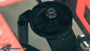 How To Replace The Transmission Idler Pulley On A Troy