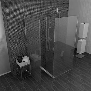 Dusche Mit Glaswand : die besten 25 walk in dusche ideen auf pinterest duschwand walk in waschraum layouts und ~ Orissabook.com Haus und Dekorationen