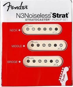 New  Fender N3 Noiseless U2122 Single Coil Strat Pickups