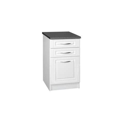 casserolier cuisine meuble de cuisine casserolier bas 3 tiroirs 80 cm dina en