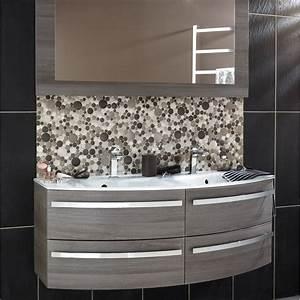 vasque a poser leroy merlin cheap superbe comment poser With porte d entrée pvc avec meuble salle de bain 80 cm gris
