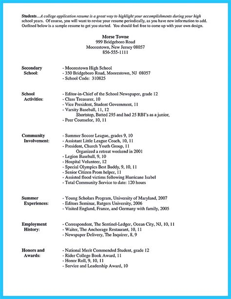 How To Make Resume For College Student by Best Current College Student Resume With No Experience