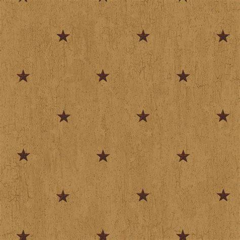 primitive star background tan maroon cb5674 barn star spot wallpaper rustic country primitive