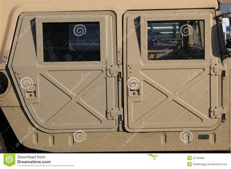 humvee side view side view of military humvee royalty free stock photo