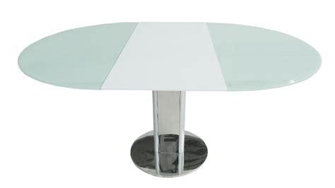 table cuisine extensible table contemporaine en verre découvrez la table damasia