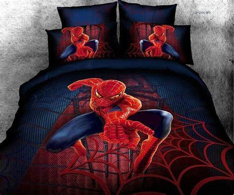 spiderman fullqueen size bed quiltdoonaduvet cover set