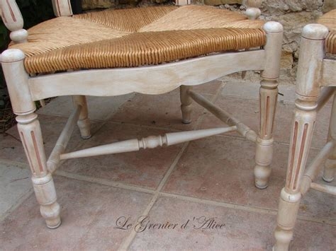refaire une chaise en paille relooker chaise en paille finest customiser chaise en