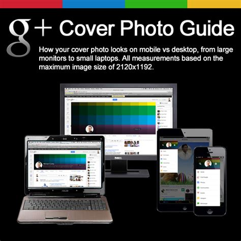 google cover photo size guide to the new google cover photo size with template