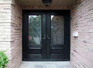 fiberglass exterior double doors wrought iron decor and With kitchen colors with white cabinets with black wrought iron wall mounted candle holder