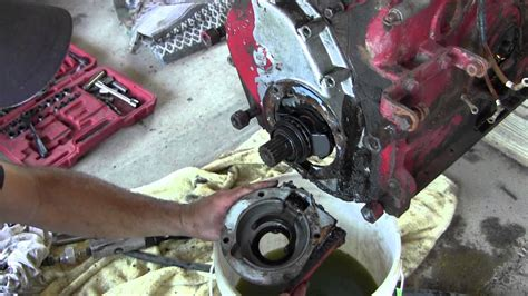 ford jubilee naa tractor engine rebuild part  governor