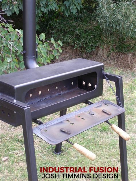 industrial fusion furniture cookers  rocket stoves