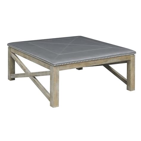 It lets you create a warm and inviting look with your favorite decor, collectibles, potted plants etc. Shop Emerald Home Upholstered Gray Square Coffee Table - On Sale - Free Shipping Today ...