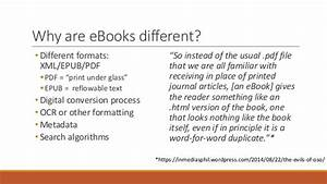 Comparing Digital Apples and Oranges: A Comparative ...