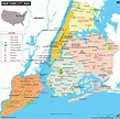NYC Map, Map of New York City, Information and Facts of ...