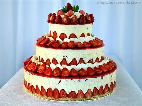 les meilleurs cuisines du monde fraisier façon wedding cake recette design chefs et gâteaux