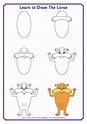 Learn to Draw the Lorax | The lorax, Dr seuss activities ...