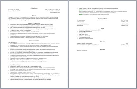 contract administrator resume best template collection