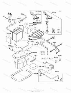 Kawasaki Jet Ski 1997 Oem Parts Diagram For Electrical