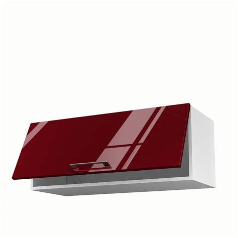 hauteur meuble haut de cuisine meuble de cuisine haut 1 porte griotte h 35 x l 90 x
