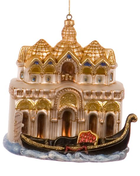 gondola boat in venice italy personalized ornament