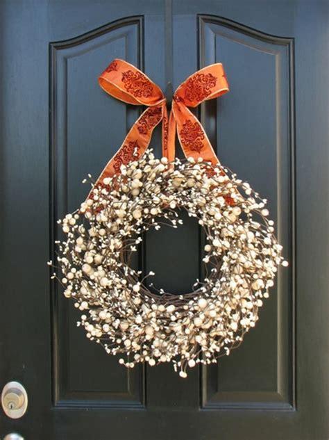 mais belas coroas de natal  decorar  casa