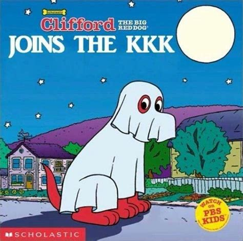Clifford Memes - lol the big kkk dog books reading words letters pinterest