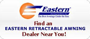 retractable awnings manufacturer eastern awning