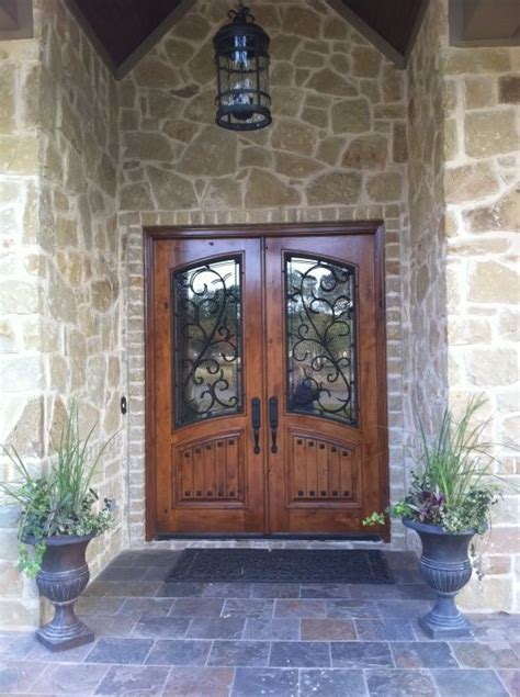 rustic front doors ideas  pinterest farmhouse