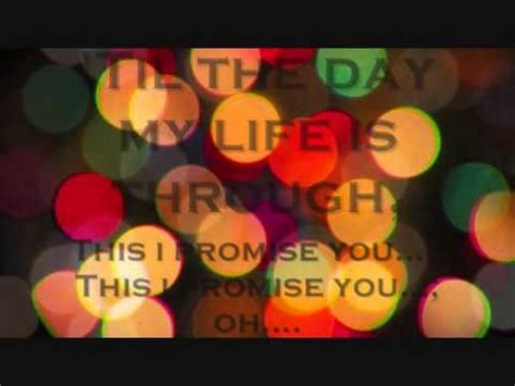 This I Promise You Anthem Lights - this i promise you lyrics anthem lights version
