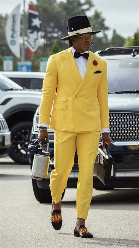 Cam Newton showed up in style for his debut with the New ...