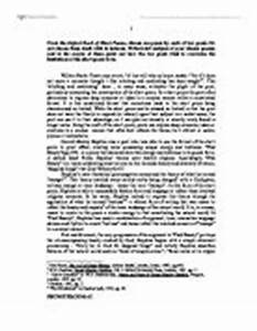 English Language Essays The Chrysanthemums Essay Outline Example Reflection Paper Example Essays also Healthy Food Essay The Chrysanthemums Essay Reckless Driving Essay The Chrysanthemums  Example Of A College Essay Paper