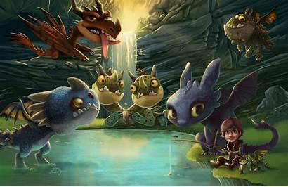 Dragon Train Toothless Hiccup Dragons Httyd Wallpapers