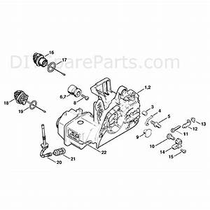 Stihl Ms 250 Chainsaw  Ms250 Cbe  Parts Diagram  Engine