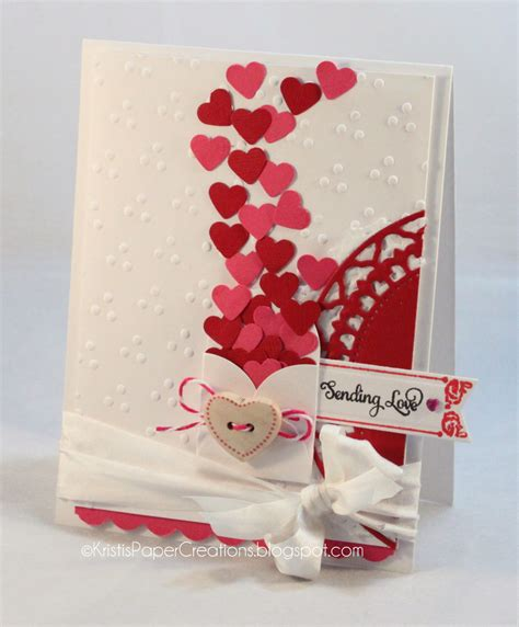 Kristi's Paper Creations Sending Love Valentine