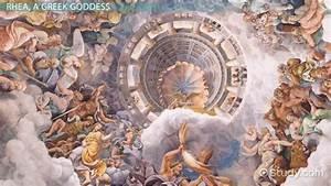 The Greek Goddess Rhea Mythology Overview Video