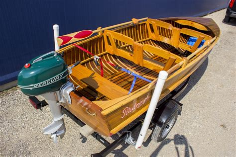 Peterborough Cedar Strip Boats For Sale by Peterborough Zephy Cedar Strip 14 1941 For Sale For