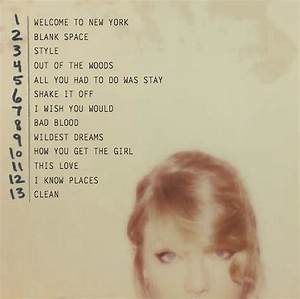 """Taylor Swift """"1989"""" Deluxe Album Review – Michelle Leigh ..."""