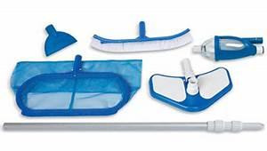 Kit Entretien Piscine Gonflable : kit d 39 entretien nettoyage piscine hors sol intex jardideco ~ Voncanada.com Idées de Décoration