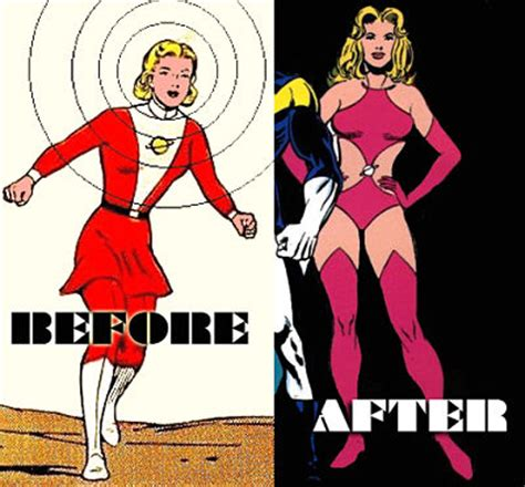 The Ten Sexiest Superhero Costume Makeovers (for Better ...