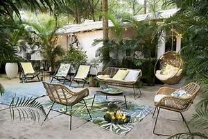Salon De Jardin Bambou : salon de jardin nos coups de coeur 2018 femme actuelle ~ Teatrodelosmanantiales.com Idées de Décoration