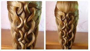 Coiffure Tresse Facile Cheveux Mi Long : tuto coiffure facile et rapide cheveux long mi long ~ Melissatoandfro.com Idées de Décoration
